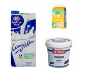 Melk, Yoghurt, Vla