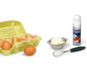Slag-, Kookromen, Eieren