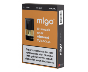 Migo Pods Almond Tobacco