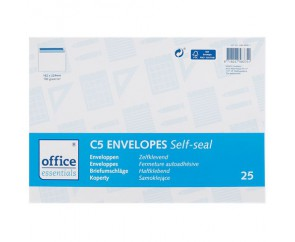 Office Essentials C5-Enveloppen