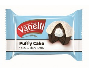 Vanelli Puffy Cake Cacao & Aero Cream