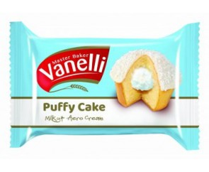 Vanelli Puffy Cake Milky & Aero Cream