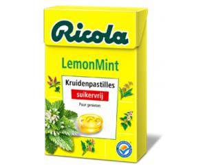 Ricola Lemonmint Keelpastilles