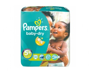 Pampers Baby-Dry 5+
