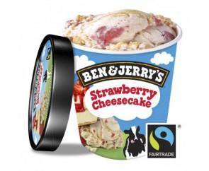 Ben & Jerry's Strawberry Cheesecake