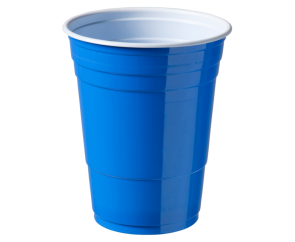 Party Cup Blue