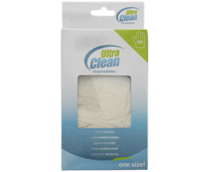 Ultra Clean Latex Handschoennen