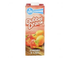 Dubbeldrank Aardbei & Caja