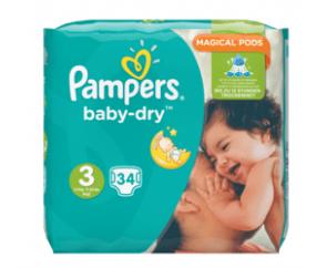 Pamper Baby-Dry 3