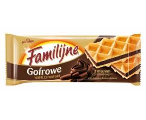 Jutrzenka Familijne Chocolade Wafles