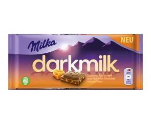 Milka Darkmilk Caramel