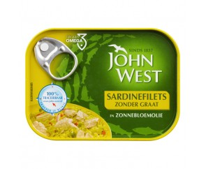 John West Sardinefilets