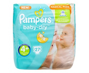 Pampers Baby-Dry 4+
