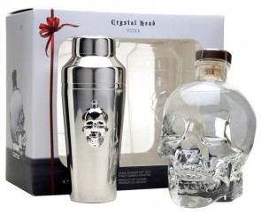 Crystal Head +Cocktailshaker