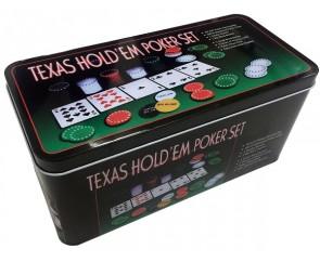 Poker Texas Hold em set