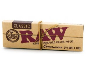 RAW Classic Rolling Paper + Filter tips