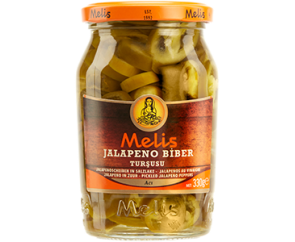Melis Jalapeños in zuur